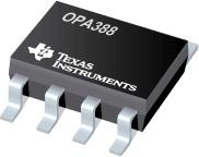 OPAx388 高精度、零漂移、零交叉、真正的軌到軌輸入/輸出運算放大器