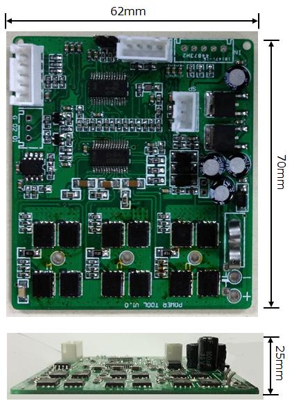 300w无刷直流电机驱动器pmm_d1401-洗衣机电路图-电子